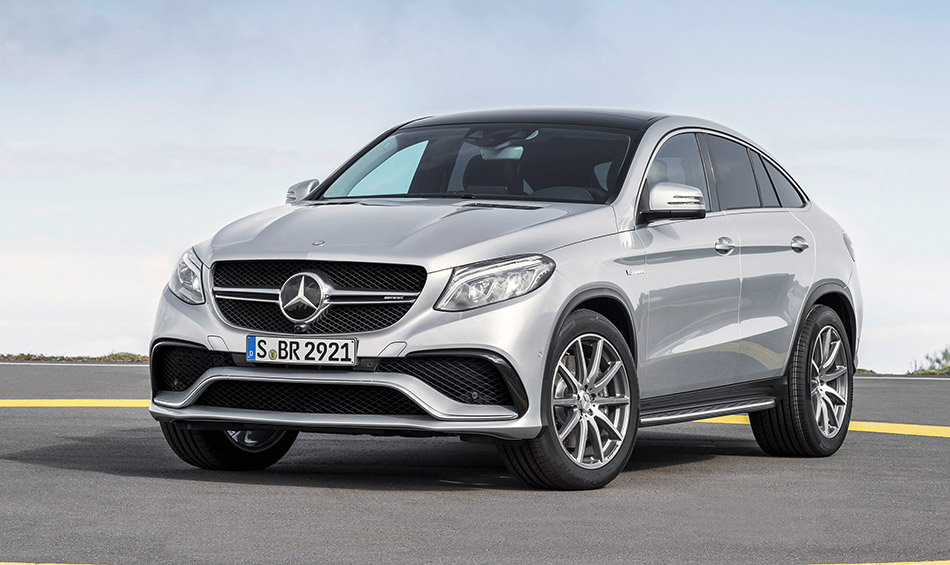 2016 Mercedes-Benz GLE63 AMG Coupe Front Angle