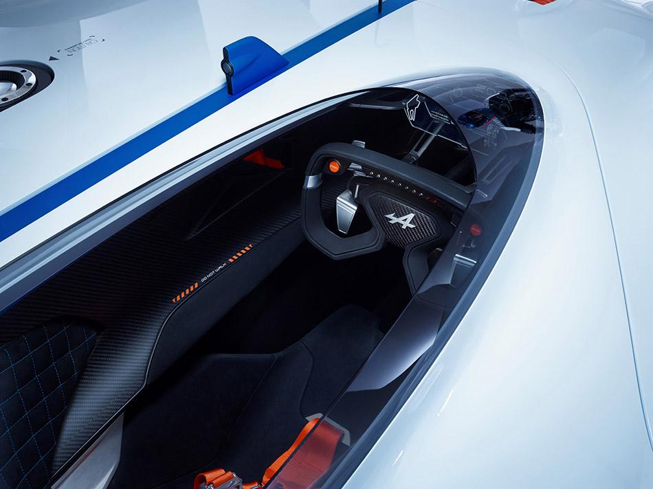 2015 Renault Alpine Vision Gran Turismo Concept Interior