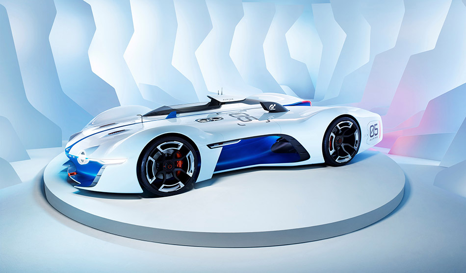 2015 Renault Alpine Vision Gran Turismo Concept Front Angle