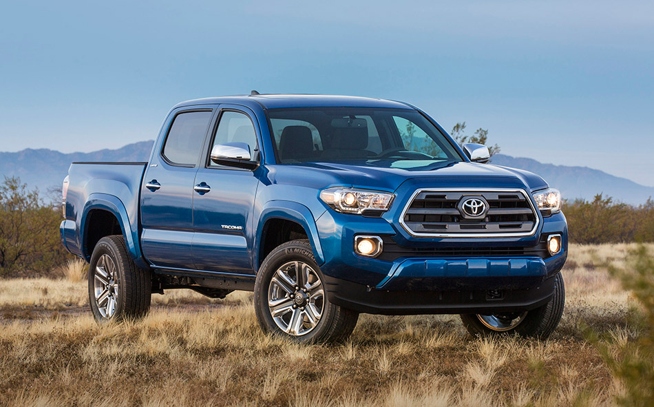 2016 Toyota Tacoma Front Angle