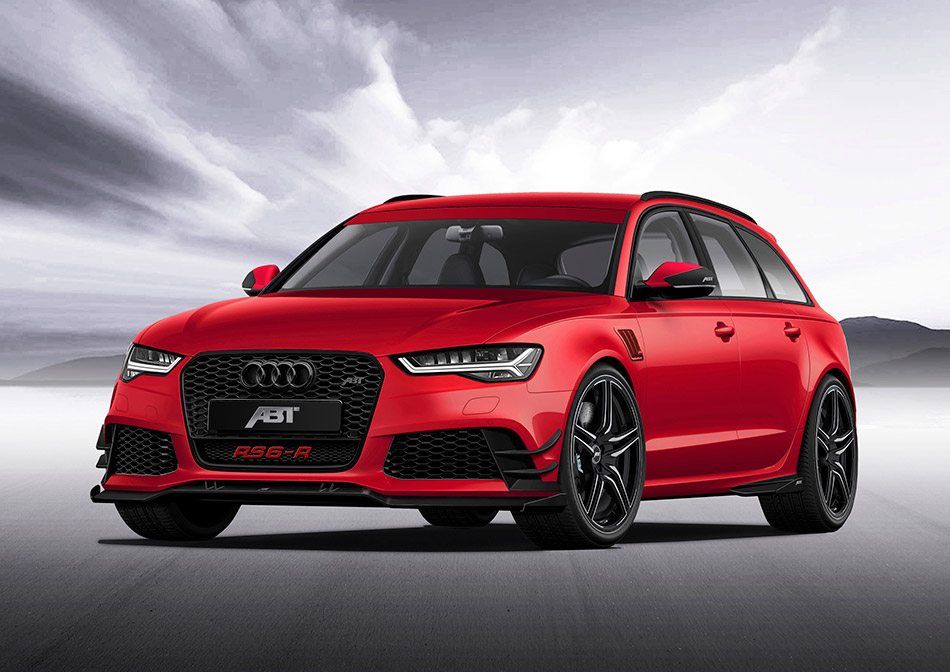 2015 ABT Audi RS6-R Front Angle