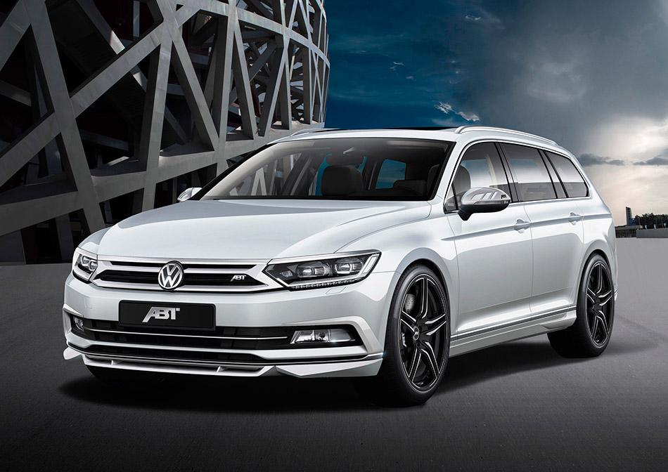 2015 ABT Volkswagen Passat B8 Front Angle