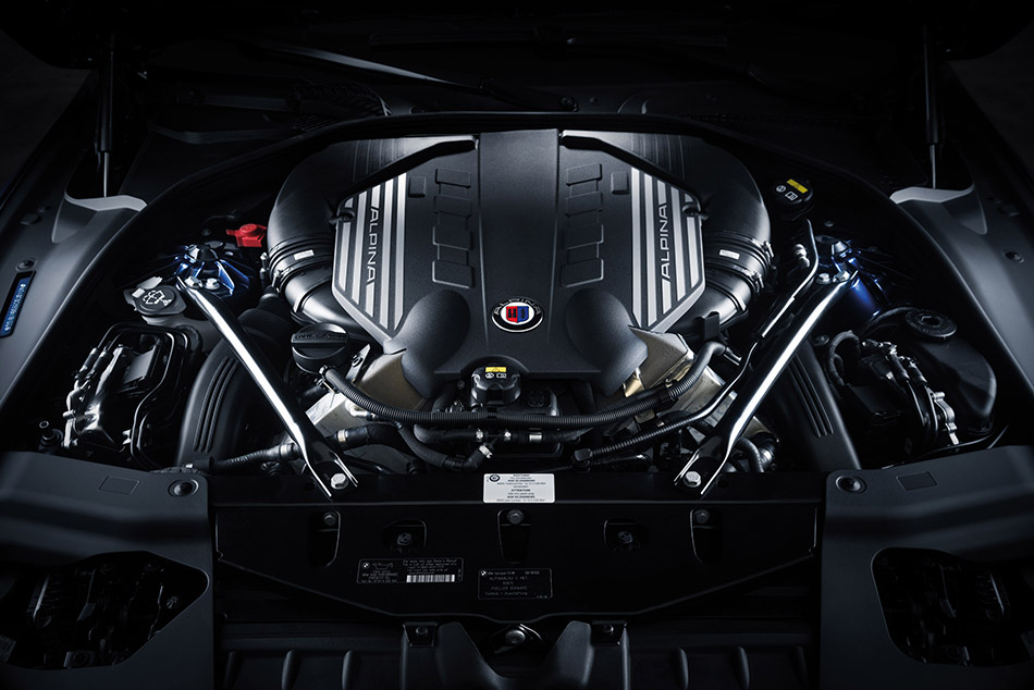 2016 Alpina BMW B6 xDrive Gran Coupe Engine