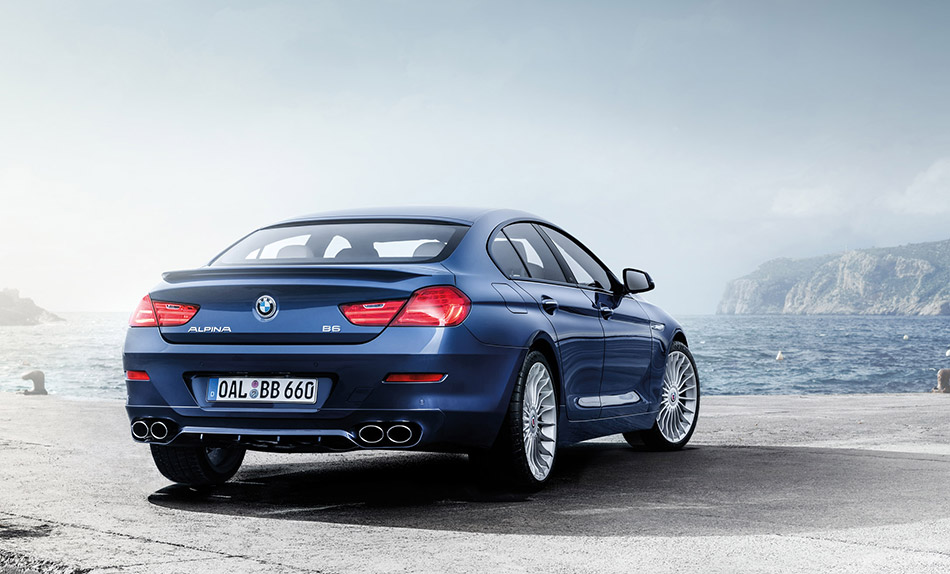 2016 Alpina BMW B6 xDrive Gran Coupe Rear Angle