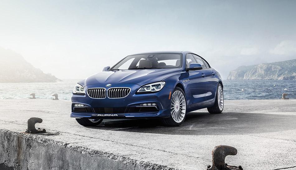 2016 Alpina BMW B6 xDrive Gran Coupe Front Angle