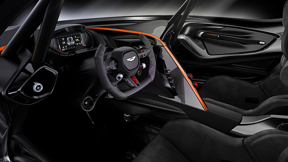 2016 Aston Martin Vulcan Interior