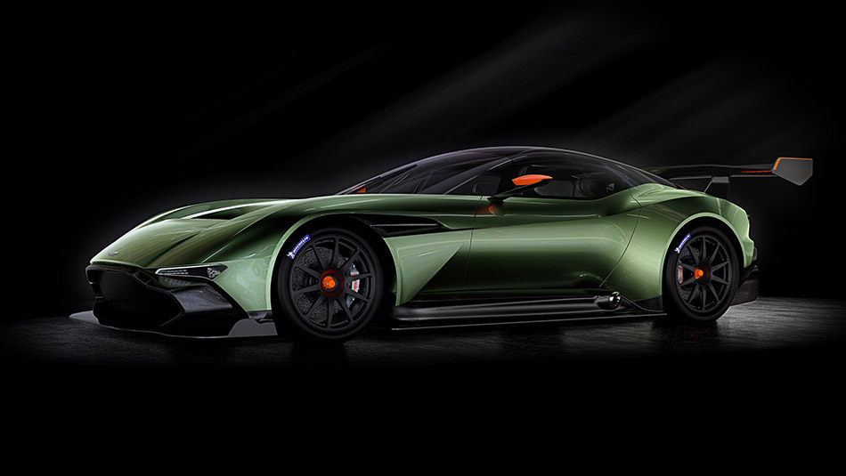 2016 Aston Martin Vulcan Front Angle