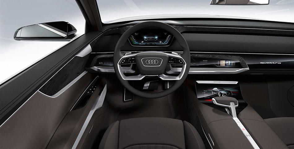 2015 Audi Prologue Avant Concept Interior