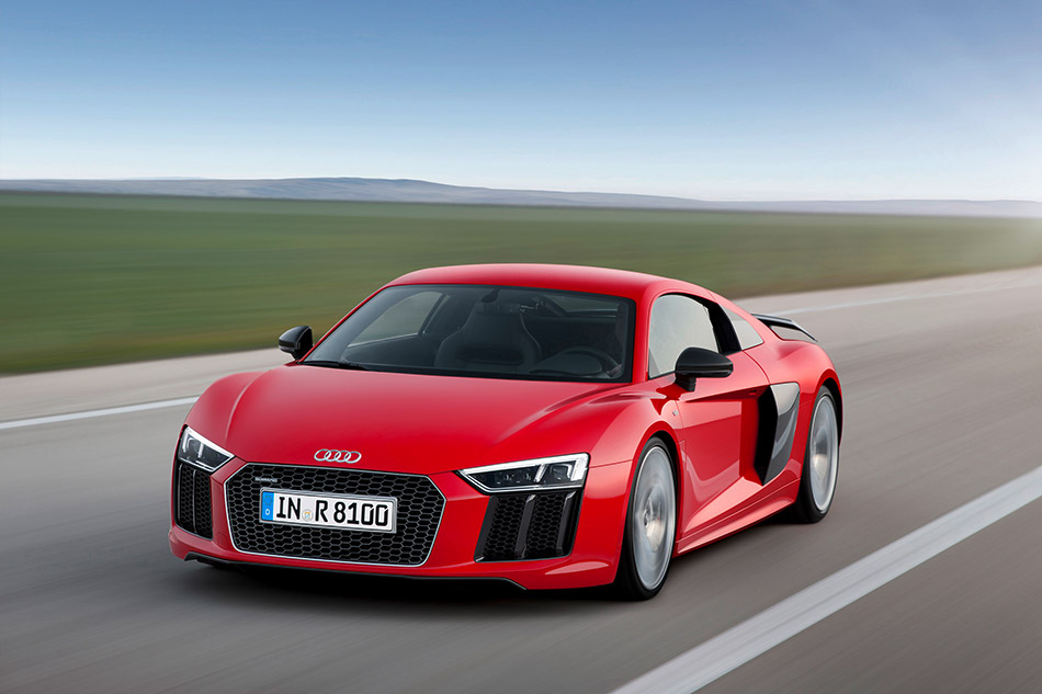 2016 Audi R8 V10 plus Front Angle