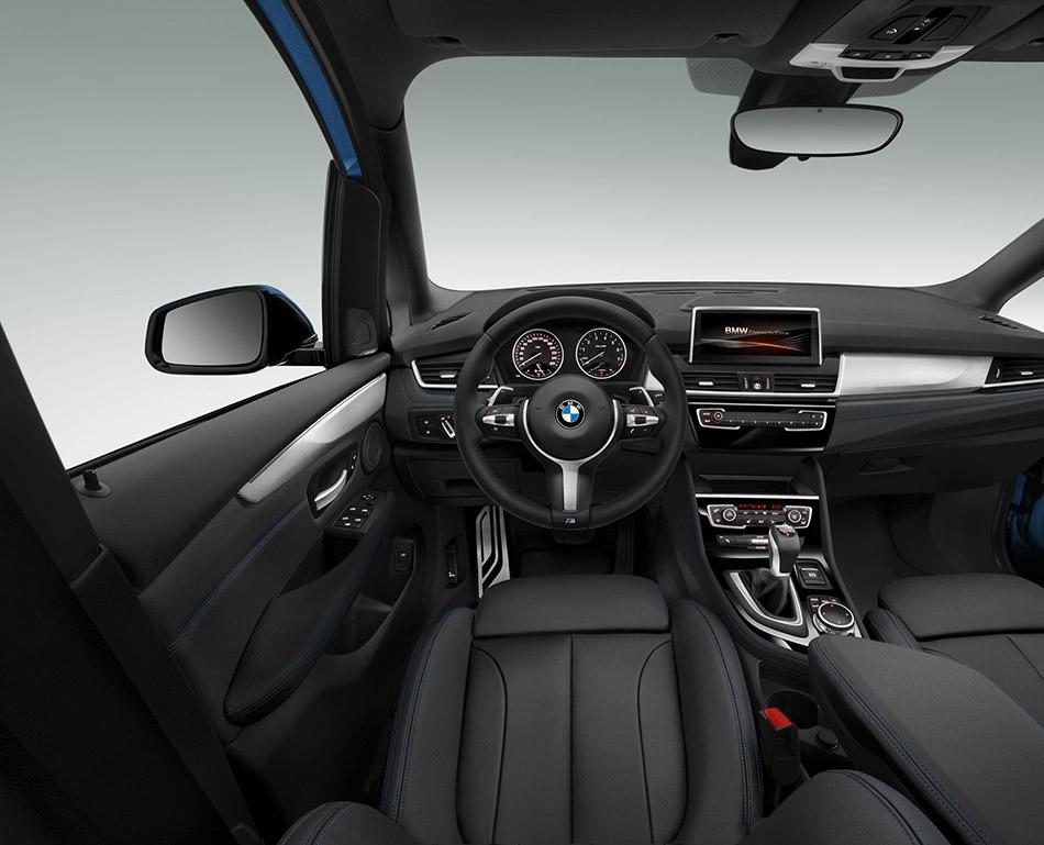 2016 BMW 2-Series Gran Tourer Interior