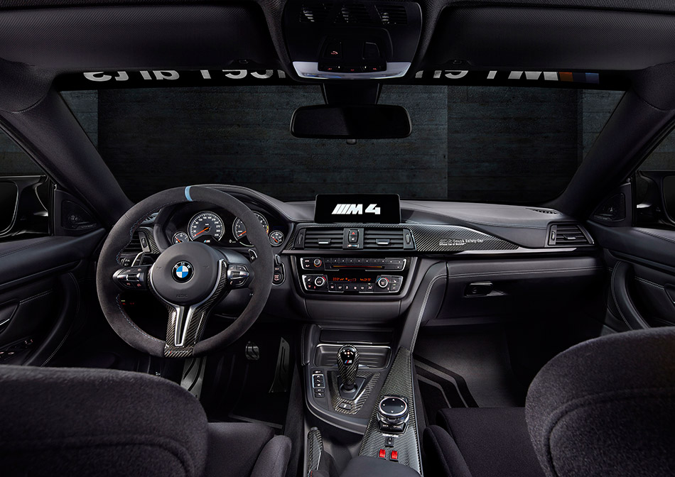 2015 BMW M4 Coupe MotoGP Safety Car Interior
