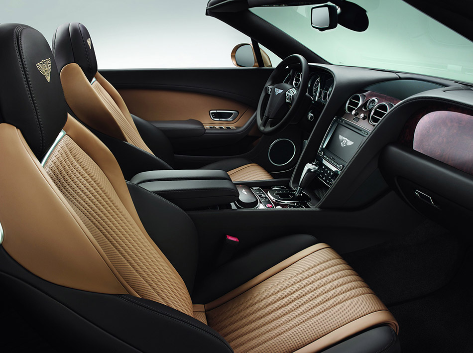 2016 Bentley Continental GT Convertible Interior
