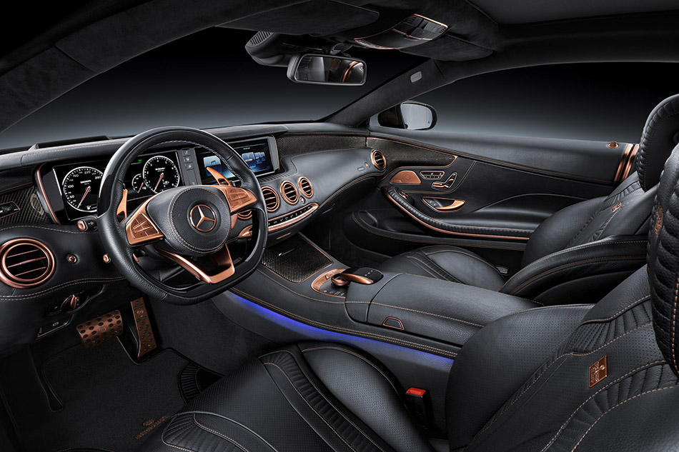 2015 Brabus Mercedes-Benz S63 4Matic Coupe Interior