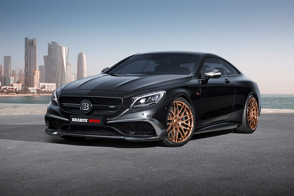2015 Brabus Mercedes-Benz S63 4Matic Coupe Front Angle