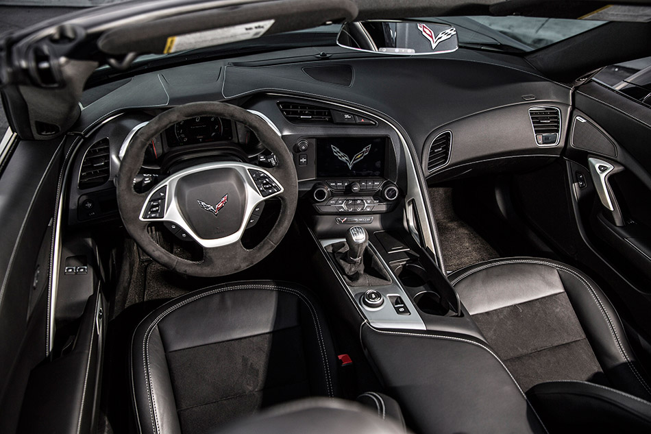 2015 Chevrolet Corvette Stingray Convertible Interior