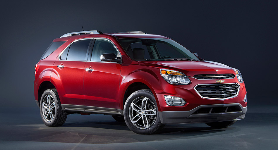 2016 Chevrolet Equinox Front Angle