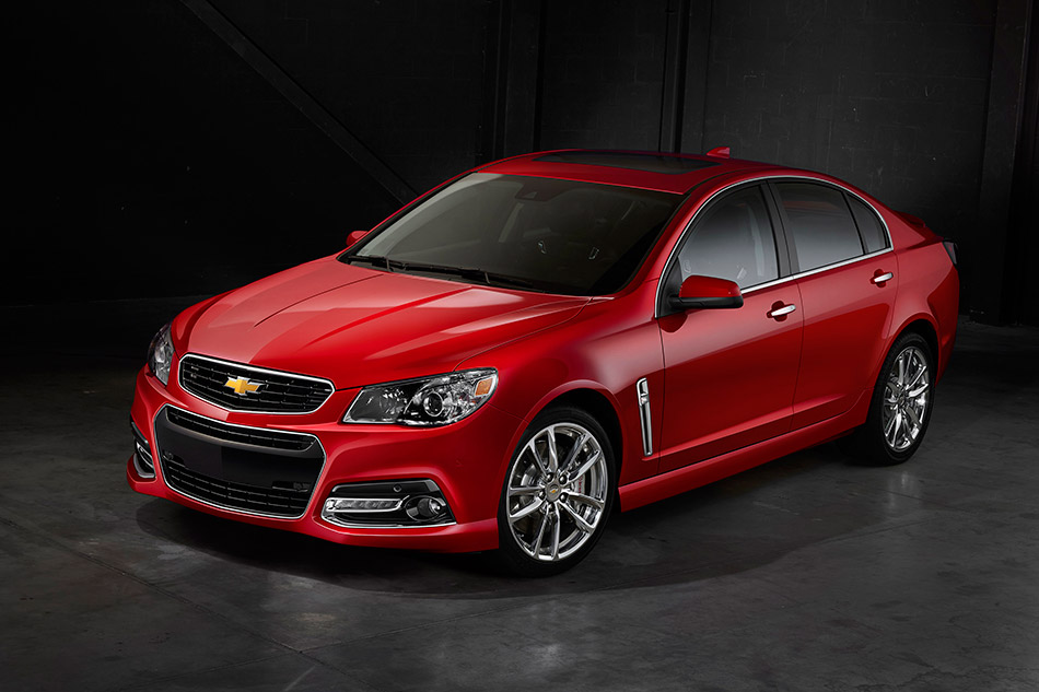 2015 Chevrolet SS Front Angle