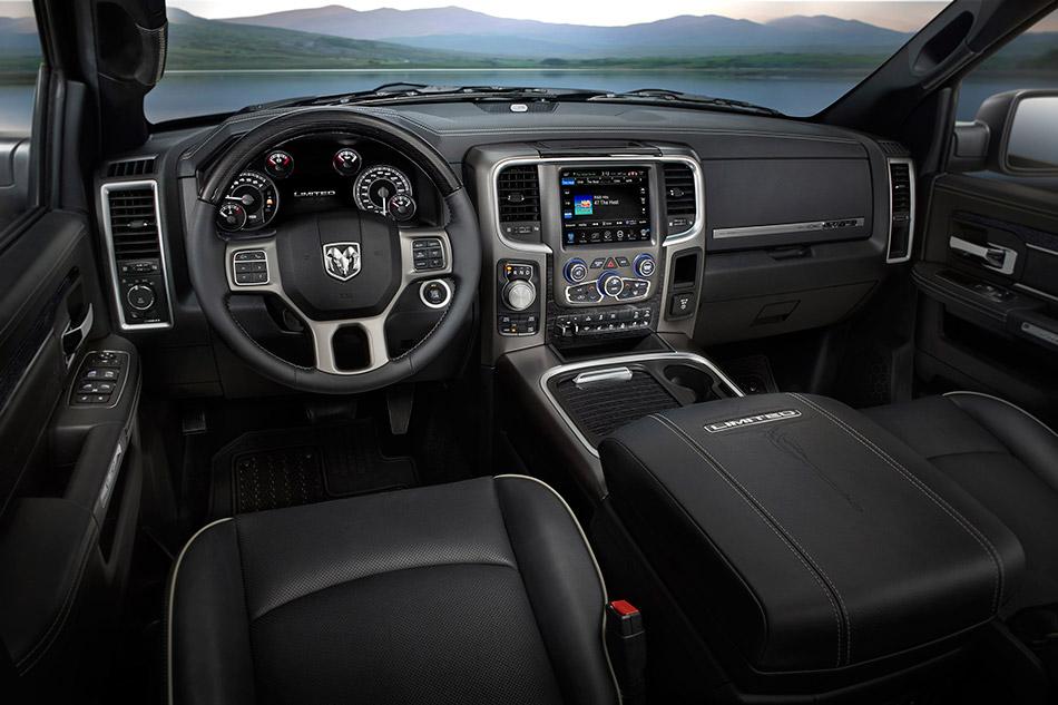 2015 Dodge Ram 1500 Laramie Limited Interior
