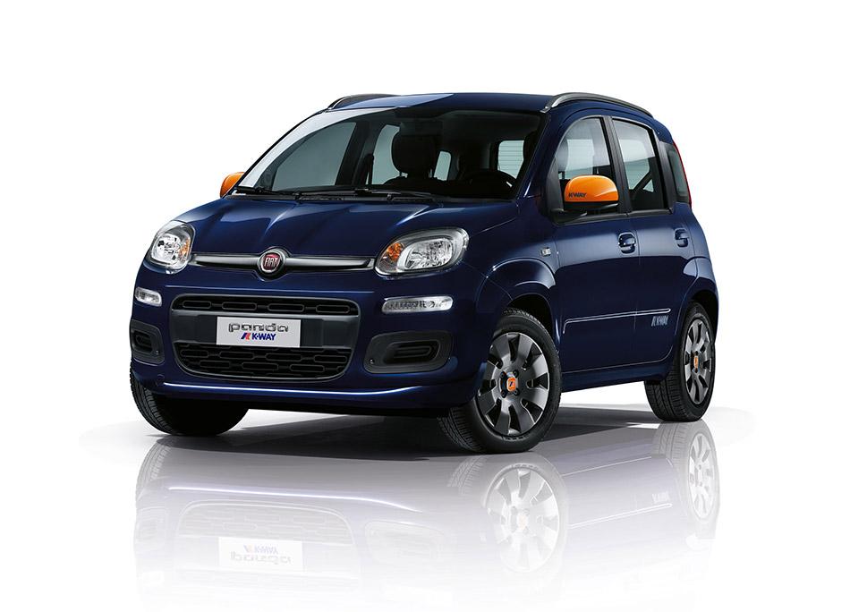 2015 Fiat Panda K-Way Front Angle