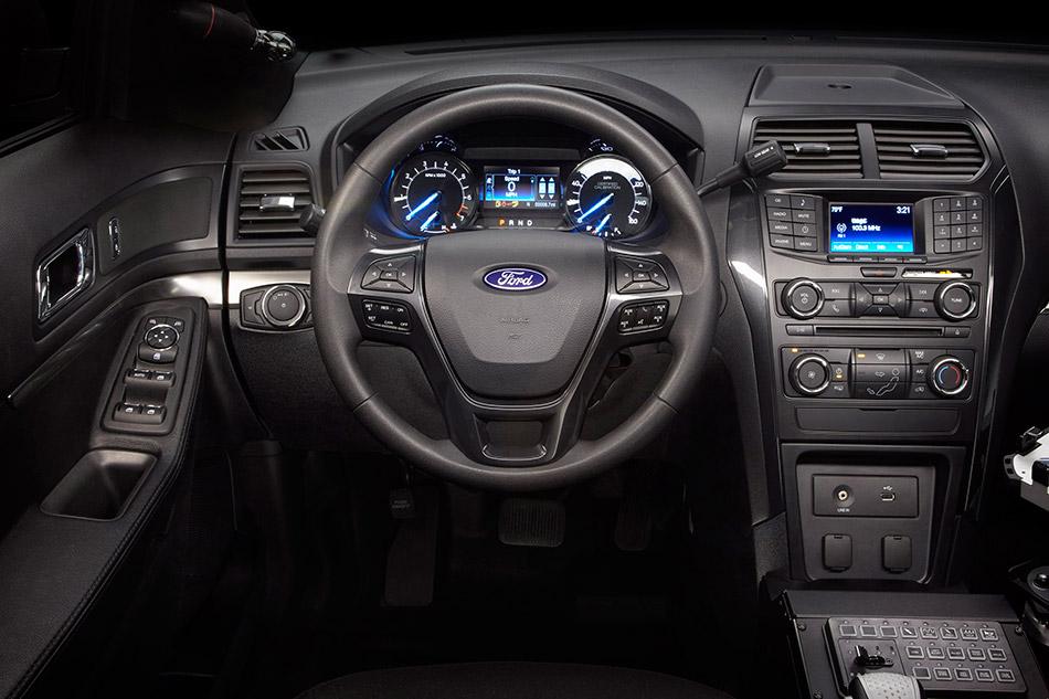 2016 Ford Police Interceptor Utility Interior
