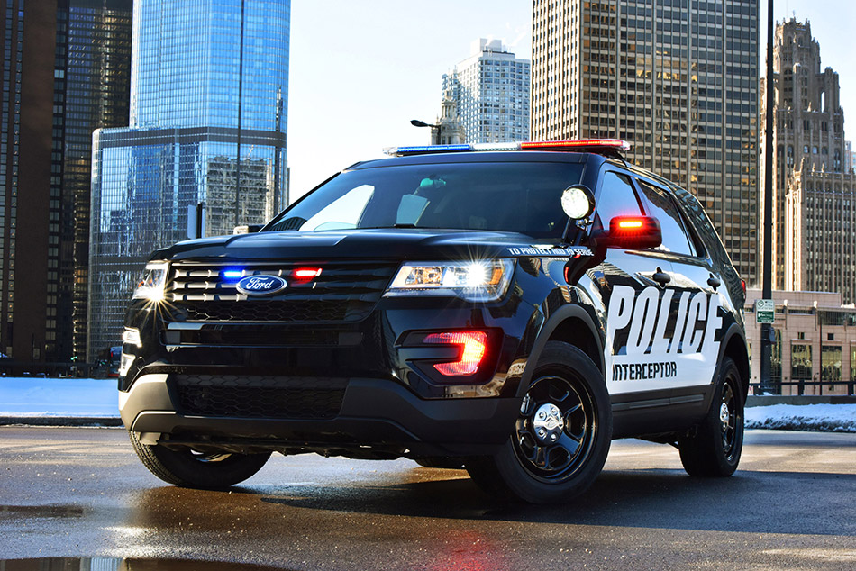 2016 Ford Police Interceptor Utility Front Angle