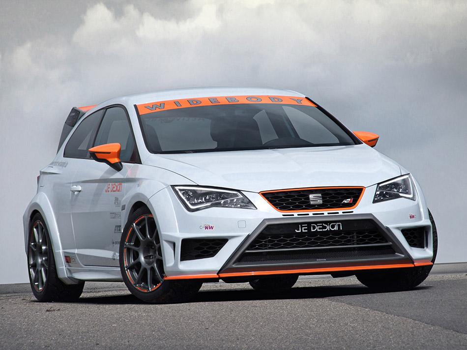 2015 Je Design Seat Leon Cupra Race Front Angle