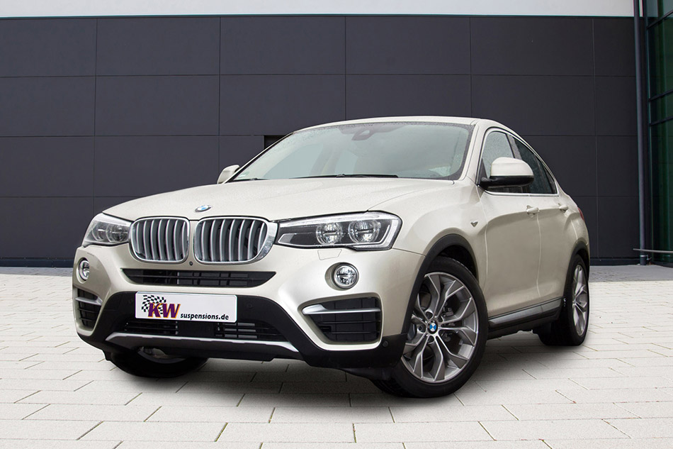 2015 KW BMW X4 Front Angle