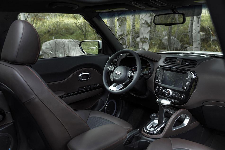 2015 Kia Trailster Concept Interior