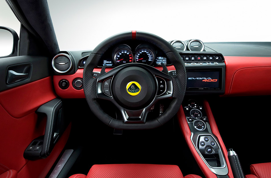 2016 Lotus Evora 400 Interior