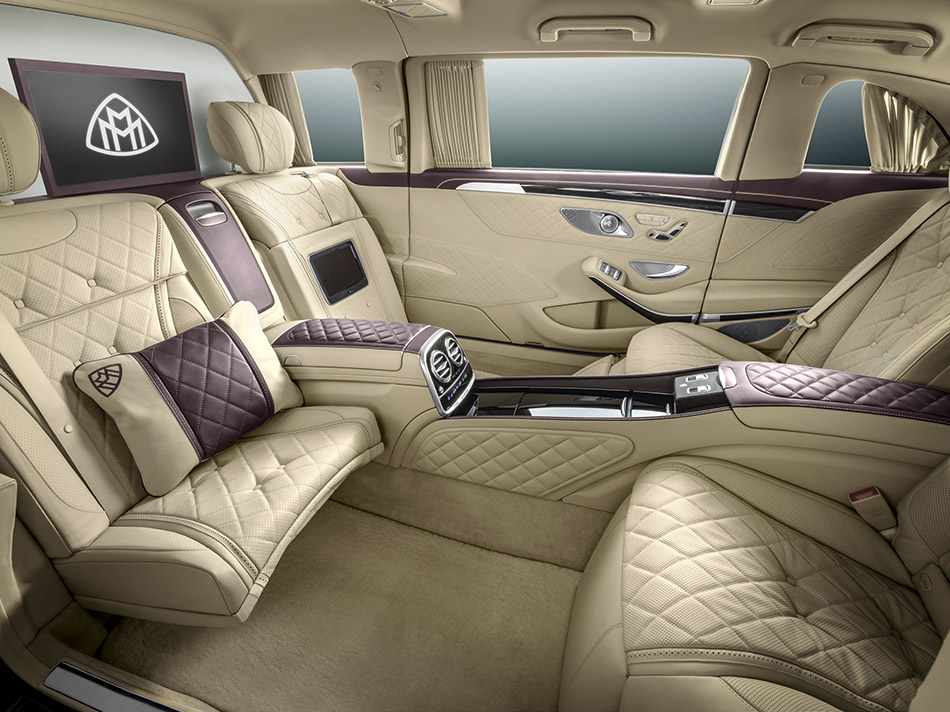 2016 Mercedes-Benz S600 Pullman Maybach Interior
