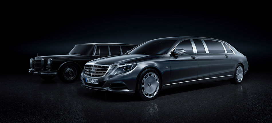 2016 Mercedes-Benz S600 Pullman Maybach Front Angle