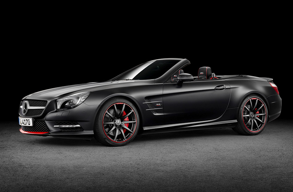 2015 Mercedes-Benz SL Mille Miglia 417 Edition Front Angle