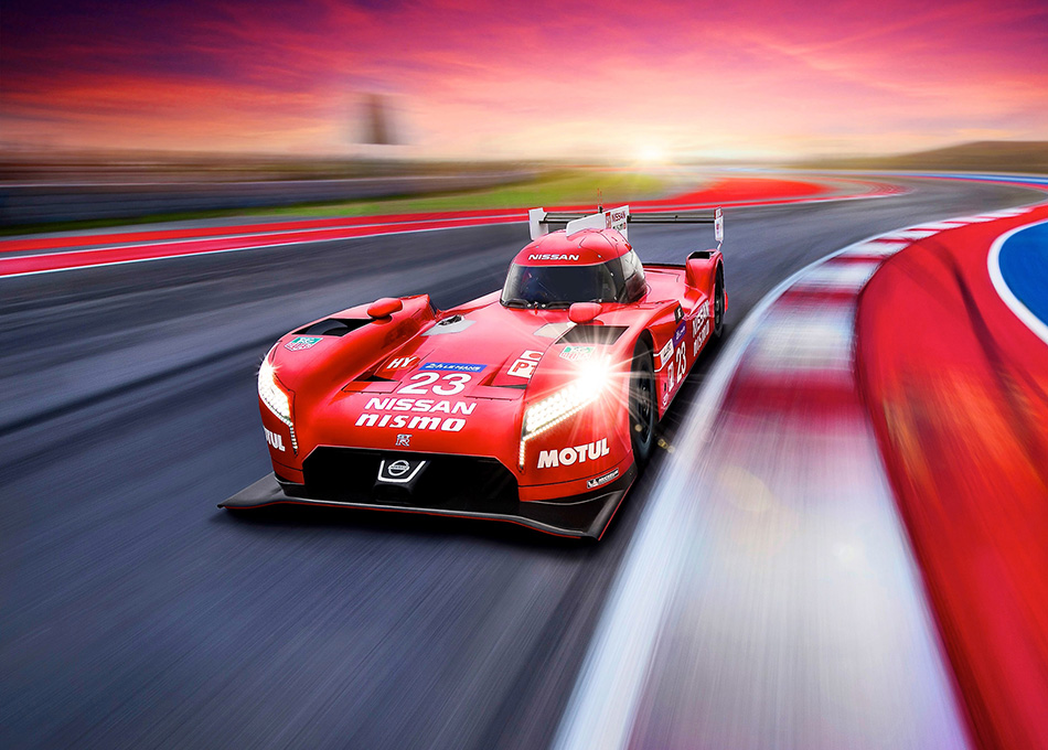 2015 Nissan GT-R LM Nismo Racecar Front Angle
