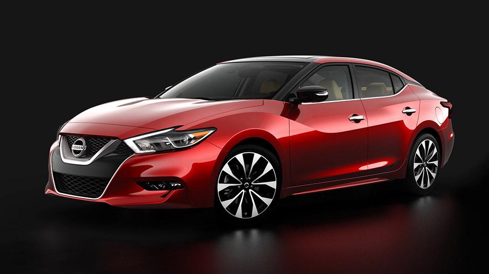 2016 Nissan Maxima Front Angle