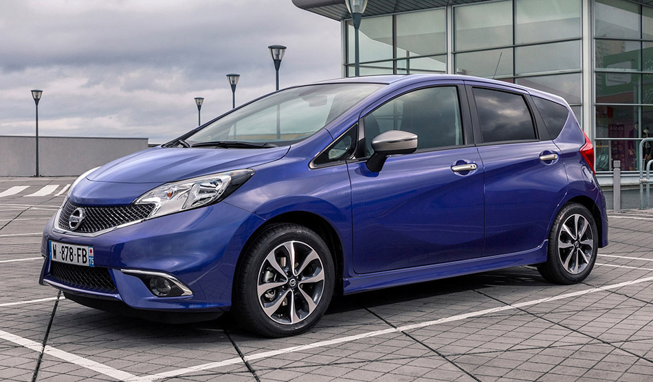 2015 Nissan Note N-TEC Front Angle