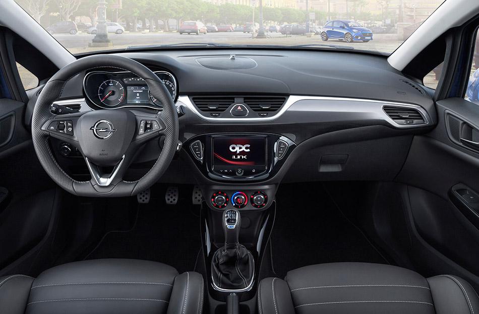 2016 Opel Corsa OPC Interior
