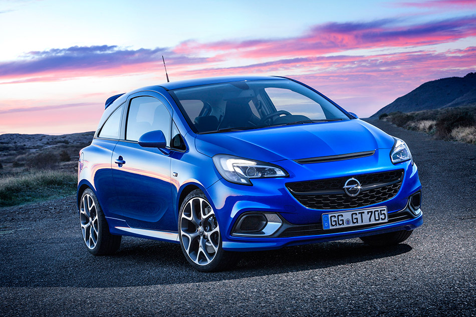 2016 Opel Corsa OPC Front Angle