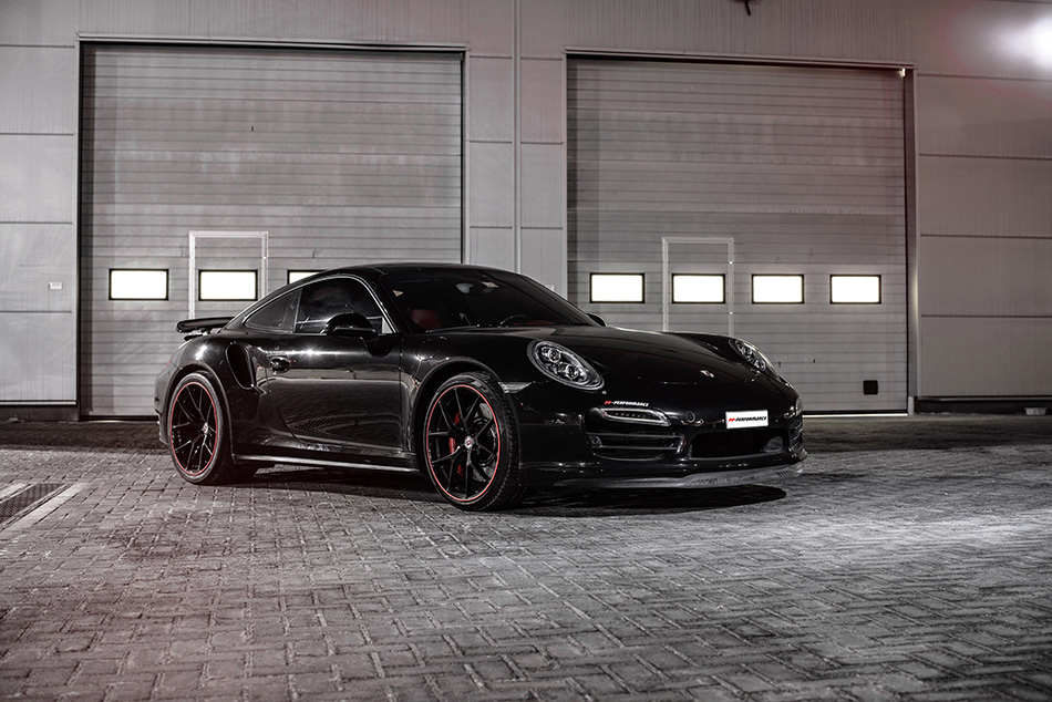 2015 PP-Performance Porsche 911 Turbo Front Angle