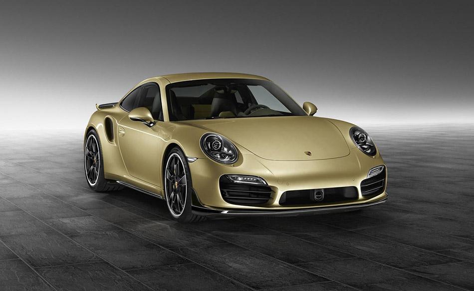 2015 Porsche 911 Turbo Aerokit Front Angle