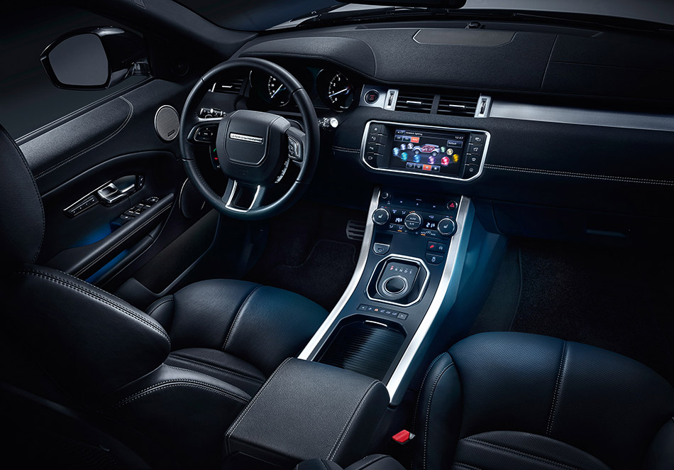2016 Range Rover Evoque Interior
