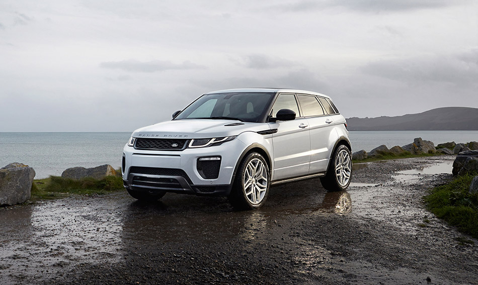 2016 Range Rover Evoque Front Angle