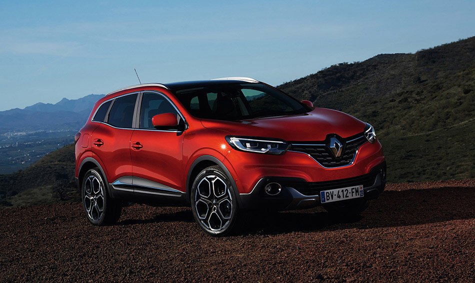 2016 Renault Kadjar Front Angle
