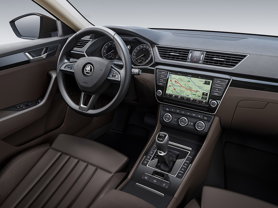 2016 Skoda Superb Interior