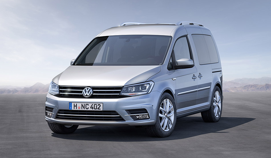 2016 Volkswagen Caddy Front Angle