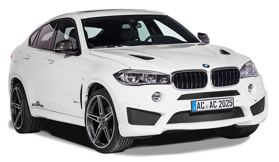 AC Schnitzer BMW X6 F16 Front Angle