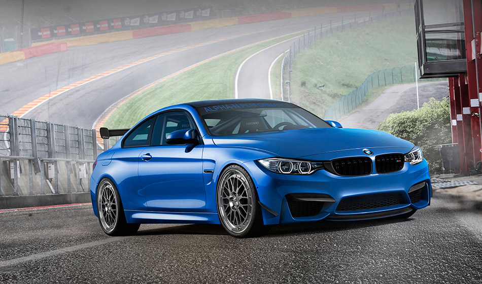 2015 Alpha-N BMW M4 Coupe Front Angle