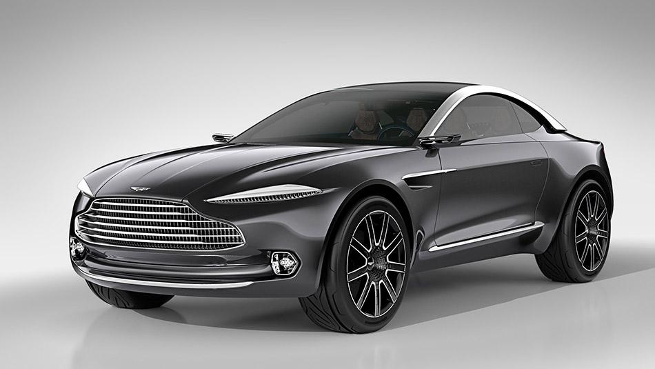2015 Aston Martin DBX Concept Front Angle