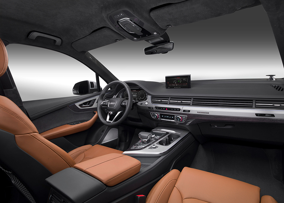 2017 Audi Q7 e-tron 3.0 TDI quattro Interior
