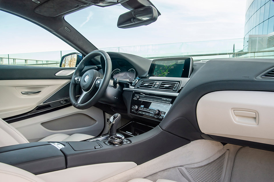 2015 BMW 6-Series Coupe Interior
