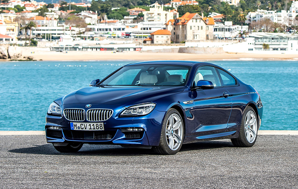 2015 BMW 6-Series Coupe Front Angle